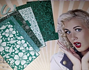 Personal dividers green dream!  Customizable Pocket or A5