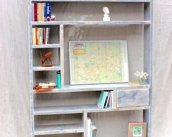 LEBRIS | Reclaimd Wood Bookcase - Handmade & Bespoke