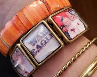 Auburn Sweet~Face Photo Bracelet