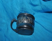 """Baby Cup SILVER Plate ROGER Brothers 227 Ornate Floral Pattern 2"""""""