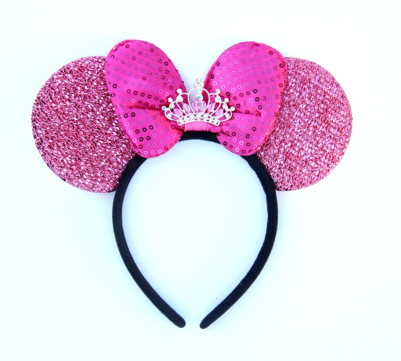 Princess disney ears crown minnie ears princess minnie by - Princesse minnie ...
