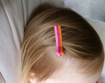 Set of Fabric Hairclips
