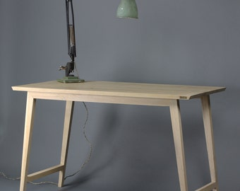 Oak Desk, Table [Bespoke sizes!] writing computer minimal office
