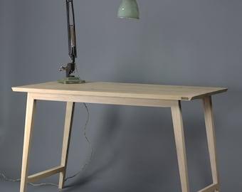 Oak Desk, Table [Bespoke sizes!] writing computer minimal office
