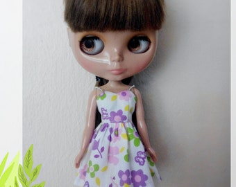 Blythe Dress, Doll dress, Party Dress, Blythe outfit