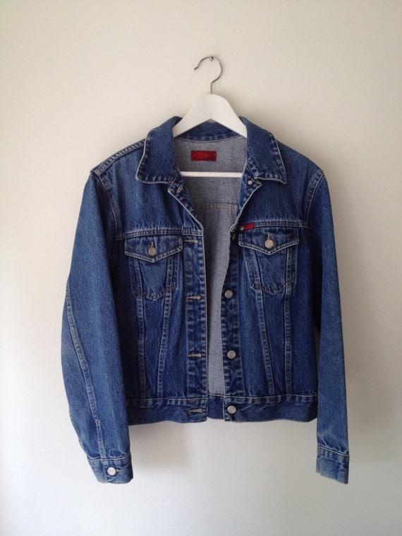 SALE 90u0026#39;s Vintage u0026#39;Lee Cooperu0026#39; denim jacket. by onebeebees on Etsy