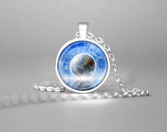 EARTH FREQUENCY VIBRATION Necklace Frequency Pendant Frequency Necklace Raise Consciousness Jewelry Vibration Pendant Vibration Necklace