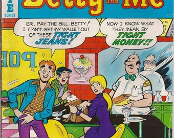 Archie Comic Series No  72, Cat# 06970 Feb 1976 Betty and Me