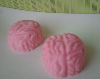 "Soap ""brain"" Halloween handmade pink unikate"