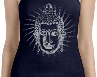 Yoga Clothing For You Ladies Tanktop Iconic Buddha Spaghetti Tank Top = 1011-ICONICBUDDHA