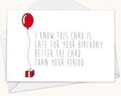 Funny Birthday Card, Funny Greeting Card, Birthday Card, Greeting Card, Blank Birthday Card, Funny Card, Sarcastic Birthday Card, Vagina