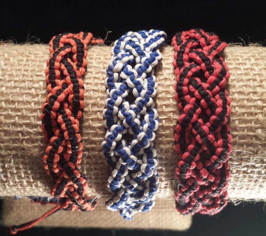 hemp bracelet braided bracelet celtic bracelet celtic. Black Bedroom Furniture Sets. Home Design Ideas