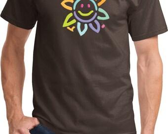 Men's Flower Shirt Sunflower Tee T-Shirt SUNFLOWER-PC61