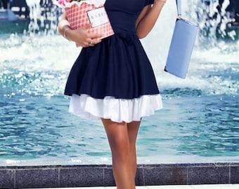 Cute Peter Pan collar dress, bridesmaids dresses, sundress, party dress, summer dress, 1950s dress, prom dress, bridesmaid dress