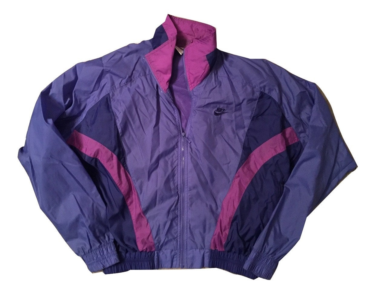 veste de pluie femme nike windbreaker jacket vintage. Black Bedroom Furniture Sets. Home Design Ideas