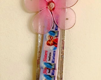 "Disney Frozen ""Sisters Before Misters"" Headband Organizer"