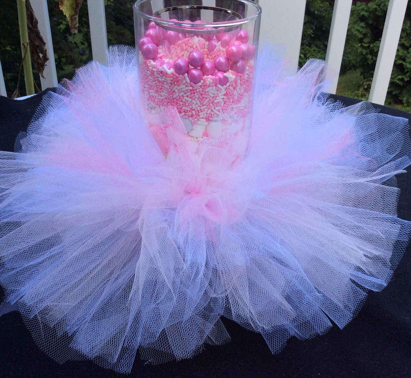 Tulle Tutu Vase Or Candle Accent By LillyJake On Etsy
