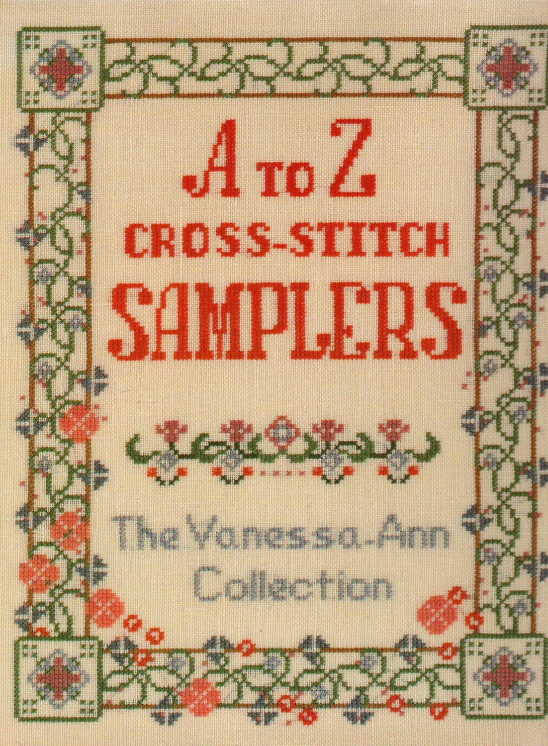 A to z cross stitch samplers book