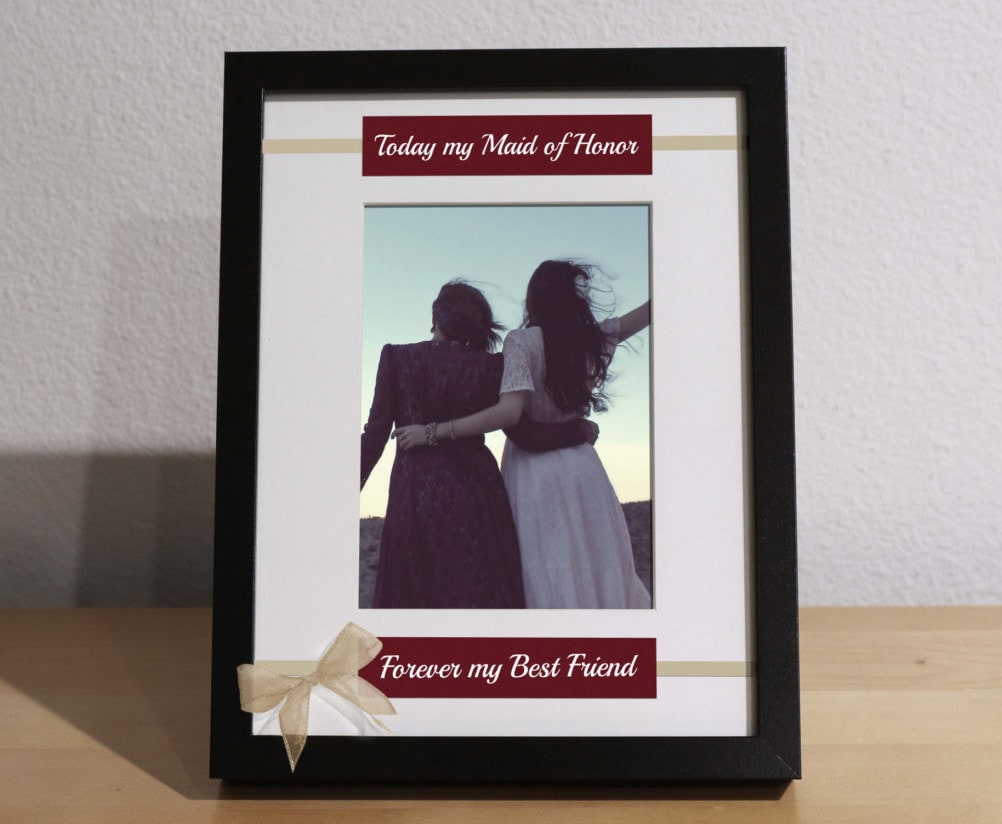 How To Be The Best Maid Of Honor: Matron Of Honor Gift, Maid Of Honor Gift From Bride
