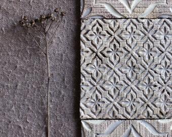 Grey Flower Ceramic Tiles for Bathroom/Kitchen Backsplash