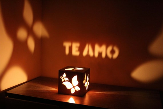 Te amo personalized gift for her him bedroom lighting love for Bedroom gifts for her