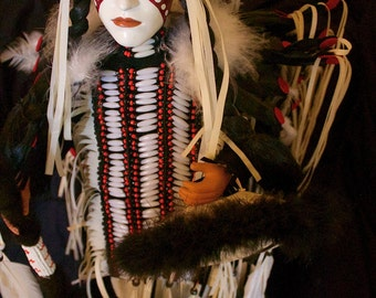 Collectable Native American Indian Doll