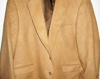 Vintage Kingsbridge Camel hair? Big & Tall, No size tag, see measurements below.