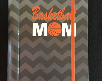 CLOSEOUT SALE...While Supplies Last....Basketball Undated 12 Month Planner....Basketball Mom....Team Spirit....Grey & Orange