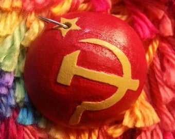 Hammer and Sickle Pendant