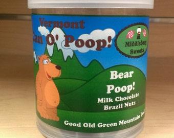 Vermont Can O' Poop - Bear Poop (Milk Chocolate Brazil Nuts)