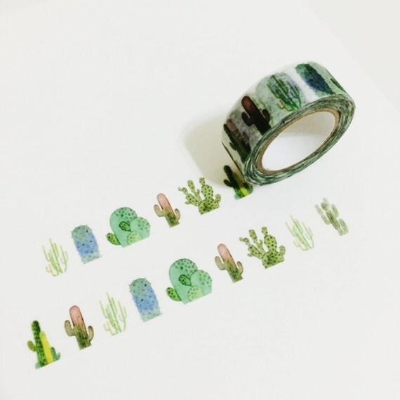 Cactus Washi Tape