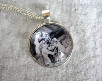The Joker and Harley Quinn - Batman DC Comics Necklace