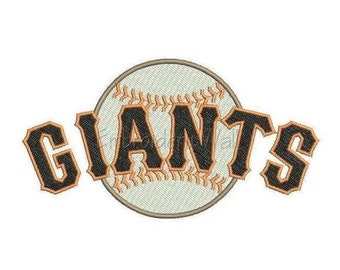 Embroidery design - San Francisco Giants embroidery design ~ INSTANT download machine embroidery pattern