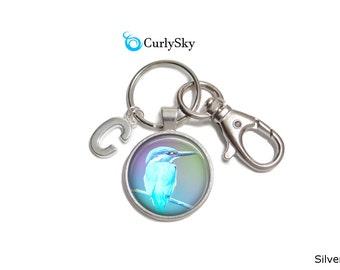 Pastel Blue Keychain Light Blue Keychain Birdie Accessory Blue Birdie Keychain Blue Bird Keychain Light Blue Accessory Pastel Blue Keychain