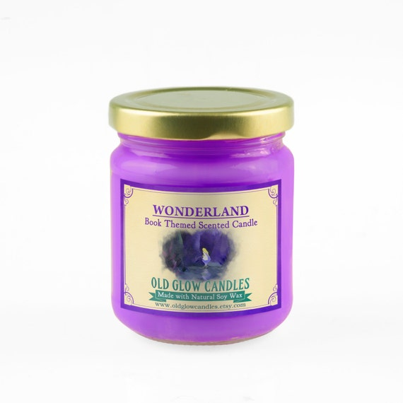 Wonderland Scented Soy Candle - Alice in Wonderland
