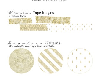 Distressed Glitter Image & Pattern Pack