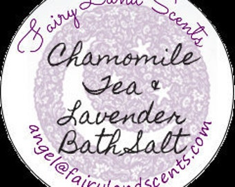 Give someone the gift of relaxation with a Lavender/Chamomile bath set