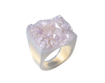 Size 7.5 Amethyst Ring