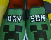 Minecraft & More 100% Customizable Kids Shoes