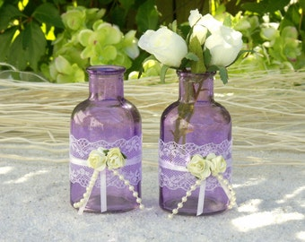 Charming Lilac Flower Vase