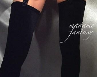 Black Velour stockings