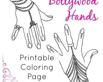 Coloring Book Page   India Clip Art   Coloring Page for Adults