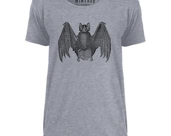 Mintage Bat Anatomy Mens Scoop Neck T-Shirt