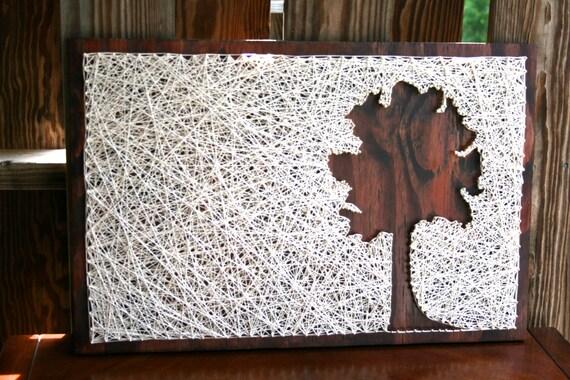 string art baum umgekehrte baum string art. Black Bedroom Furniture Sets. Home Design Ideas