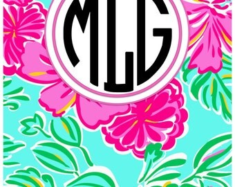 Lilly Pulitzer Inspired Binder Cover
