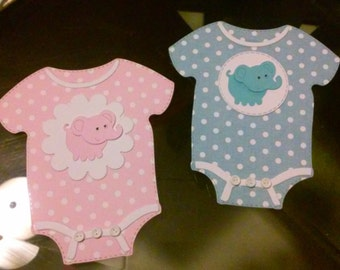 Baby Shower Onesies for boy or girl
