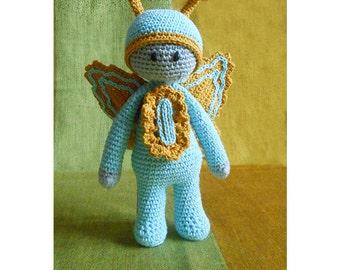 Butterfly Doll crochet pattern