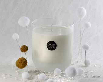 Scented candle CRISP COTTON