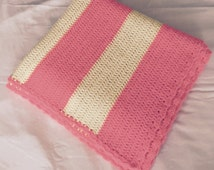 Popular Items For Striped Baby Blanket On Etsy