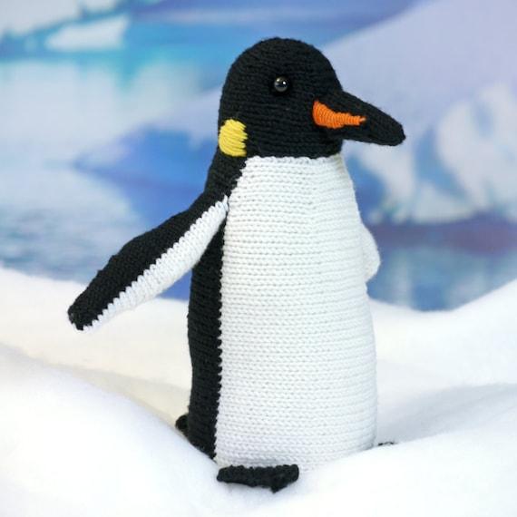 Knitted Penguin Pattern : ROALD the Penguin knitting pattern
